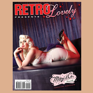 Retro Lovely Issue special edition mitzi